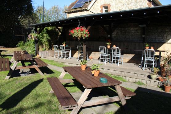The Plough Inn, Pub Garden